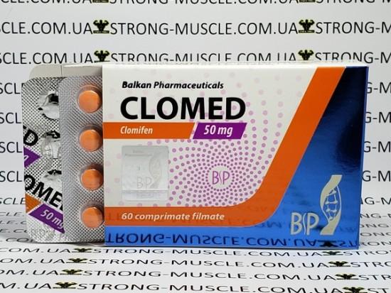 купить Clomed 20 таб, 50 мг/таб