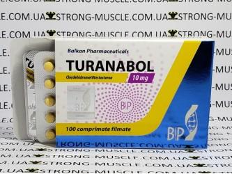 Turanabol 100 таб, 10 мг/мл