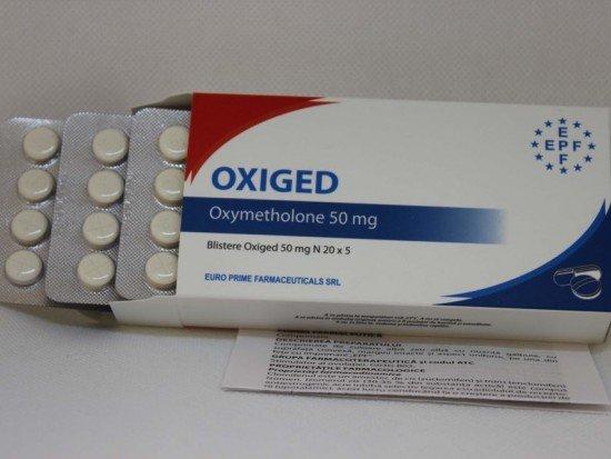 купить EPF Oxiged, 20 таб, 50 мг/таб (ЕПФ, Оксиметолон)