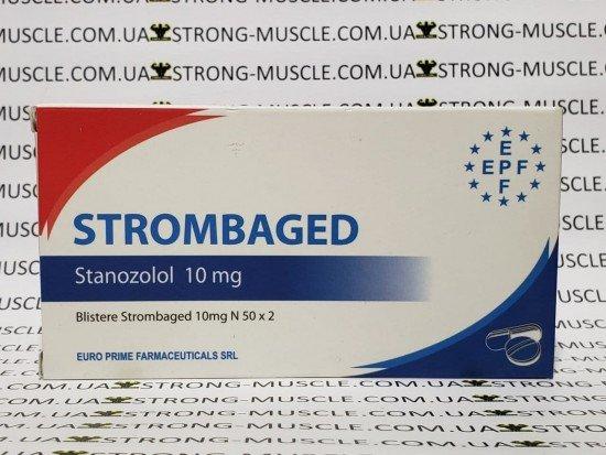 купить EPF Strombaged, 50 таб, 10 мг/таб (ЕПФ, Станозолол)