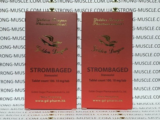 купить GD Strombaged, 50 таб, 10 мг/таб (Голден Драгон Стромбагед)