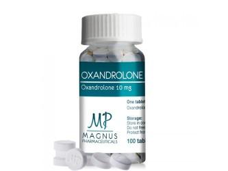 Oxandrolone 100 таб, 10 мг/таб