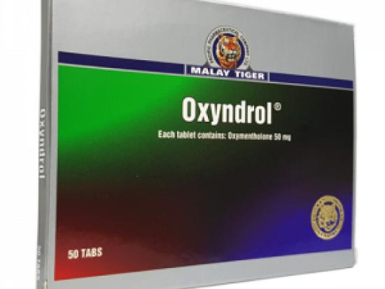 купить Oxyndrol 50 таб, 50 мг/таб