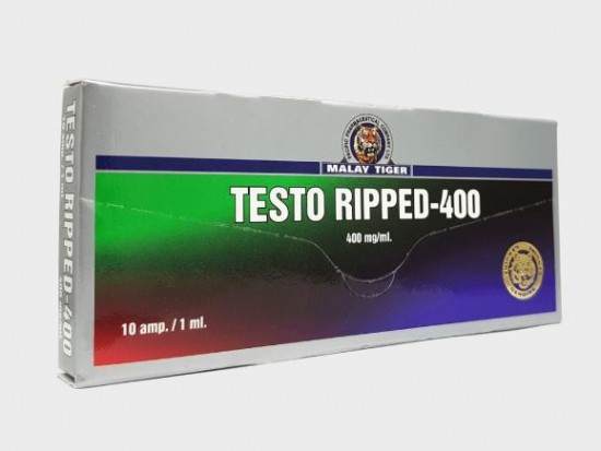 купить Testo Ripped-400 1 амп, 400 мг/мл