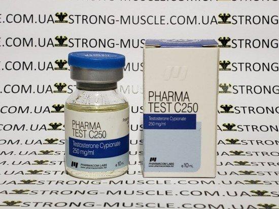 купить Pharma Test C250, 10 мл, 250 мг/мл (Фармаком лабс) Тестостерон Ципионат