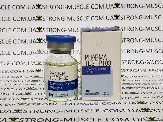 купить Pharma Test P100, 10 мл, 100 мг/мл (Фармаком лабс) Тестостерон Пропионат