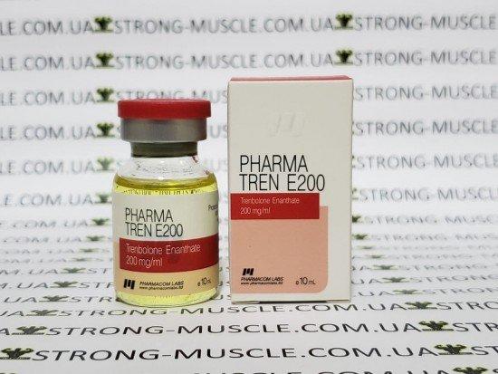купить Pharma Tren E200, 10 мл, 200 мг/мл (Фармаком лабс) Тренболон Энантат