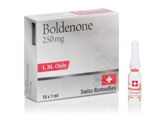 Boldenone 1 amp, 250 mg/ml