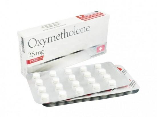 купить Оксиметолон 100 таб, 25 мг/таб (Swiss Remedies)