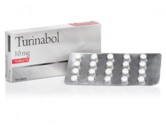 Turinabol 100 таб, 10 мг/таб
