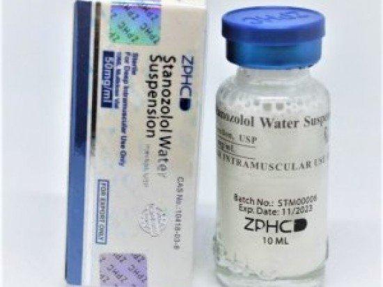 купить ZPHC Stanozolol Water Suspension, 10 мл, 50 мг/мл (Винстрол) китайский