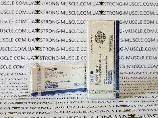 купить ZPHC Boldenone Undeсylenate, 10 мл, 250 мг/мл (Болденон) Китайский