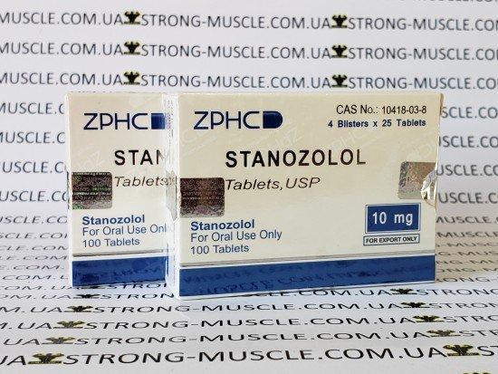 купить ZPHC Stanozolol, 100 таб, 10 мг/таб (Станозолол) китайский