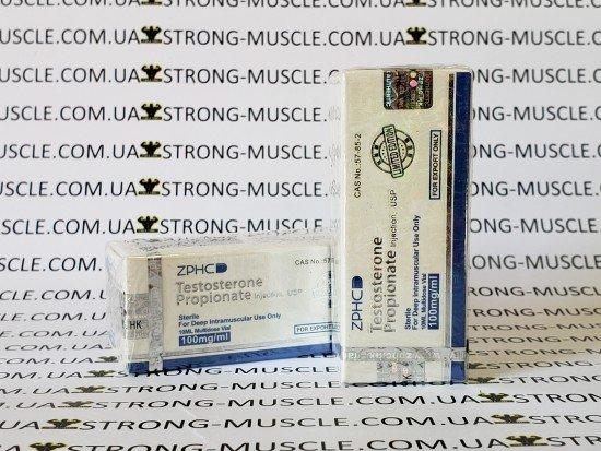 купить Testosterone propionate, 10 мл, 100 мг/мл (Тестостерон Пропионат) китайский